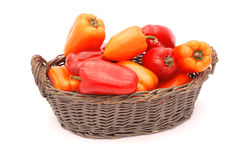 Organic vegetables - bell pepper Royalty Free Stock Photos
