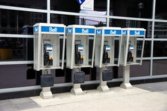 Bell Phone Booths Stock Images