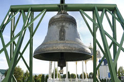 Bell in Pochaev Lavra Stock Photography