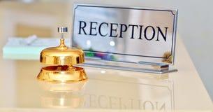 Bell przy hotelem Zdjęcie Stock