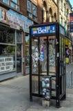 Bell public telephone Stock Photo