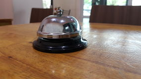 Bell in resturant. Order for food and drink Royalty Free Stock Images