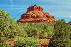 Bell Rock. In Sedona Arizona Royalty Free Stock Photos