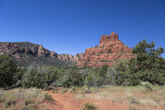 Bell Rock Hiking Trail Stock Photo