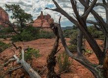 Bell Rock near Sedona, Arizona. Iconic Bell Rock from Yavapai Vista Trail Stock Photo
