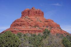 Bell Rock in Sedona Arizona. Bell Rock in Oak Creek Canyon in Sedona Arizona royalty free stock photography