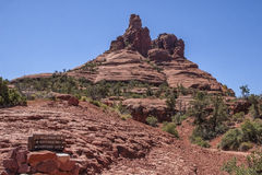 Bell Rock in Sedona, AZ, USA. This is Bell Rock in Sedona, AZ, USA Royalty Free Stock Image