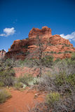 Bell Rock Under Shadow Stock Photography