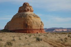 Bell Rock in Utah Royalty Free Stock Photos