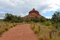 Bell rock vortex hike in Sedona Royalty Free Stock Images