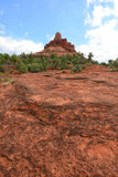 Bell rock vortex in Sedona, Arizona Stock Images