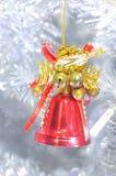 Bell roja Fotografía de archivo