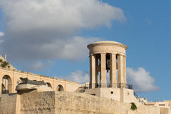 Bell's in la valletta city. Malta's isle medieval churchold building Royalty Free Stock Photography