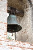 Bell in San Juan Capistrano Mission royalty free stock images