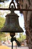 Bell santa Imágenes de archivo libres de regalías