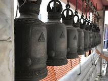 Bell santamente do templo de buddha Fotografia de Stock