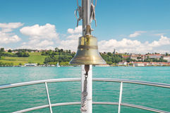 Bell on the ship Royalty Free Stock Image