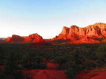 Bell skały ślad w Sedona, Arizona Obrazy Stock