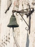 Bell in Solovetskij monastery. On Solovetskij Island, White Sea, Russia royalty free stock image