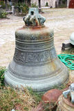 Bell in St. Andrey's skit. Athos. Greece Royalty Free Stock Images