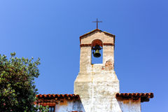 Bell and Steeple at Mission San Juan Capistrano Royalty Free Stock Photos