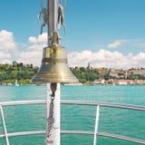 Bell sulla nave Fotografie Stock Libere da Diritti