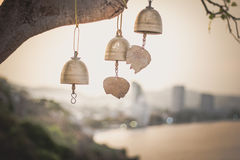 Bell. In sunset at huahin of thailand Stock Image