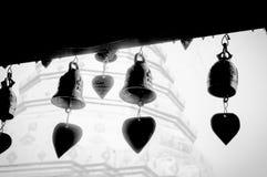 Bell sur la pagoda en Chiang Mai Image libre de droits