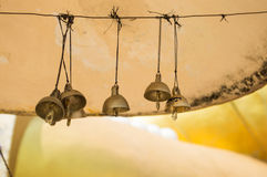Bell in tempiale Immagini Stock