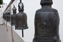 Bell in temple Stock Photography
