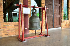 Bell of temple entrance Stock Images
