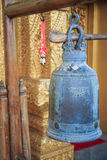 Bell at a temple in the North of Thailand. Bell image is taken in a temple called Wat Sri Pann ton Royalty Free Stock Image