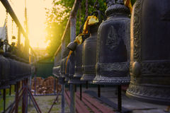 Bell in Temple Stock Image