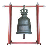 Bell in. The bell from the temple in Thailand.Ancient bell Stock Images