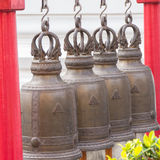 Bell in temple Royalty Free Stock Images