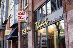 Bell Thai Restaurant Stock Photo