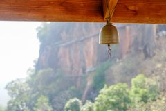 Bell in Thai temple Royalty Free Stock Image