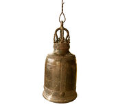 The bell in thai temple Royalty Free Stock Photography