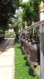 Bell, thailändischer Tempel, Buddhismus, Glocken rudern Lizenzfreie Stockfotos