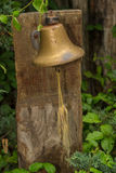 Bell in ther Garden Stock Photos