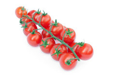 Bell tomatoes on the vine Stock Photos