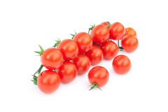 Bell tomatoes on the vine Stock Photo
