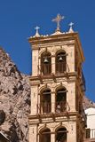 Bell Tower. Of Saint Catherin's Monastery (Egypt, Mount Sinai Stock Photos