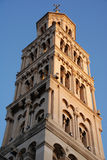 Bell tower. View of St. Domnius' bell tower in Split - Croatia Royalty Free Stock Images