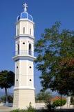 Bell Tower. Greek orthodox bell tower, Corfu, Greece stock photo