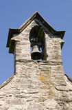 Bell tower. Old church bell tower with clear blue sky's Stock Photo
