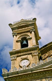 Bell Tower. Mosta cathedral, Malta royalty free stock images