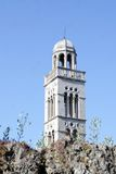 A bell tower royalty free stock image