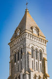 Bell tower of the Abbey of Noirmoutier Royalty Free Stock Photos