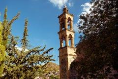 Bell tower of Agios Georgios & x28;Saint George& x29; church at Palaichori Stock Image